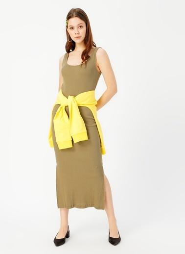 Limon Company Limon Haki Elbise Haki